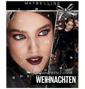 Maybelline Adventskalender test